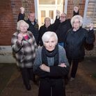 Sheila Cope and her fellow pensioners determined to save their club at Raine's House in Wapping. Pic