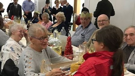 Pupils gave out 20 hampers to elderly residents. Picture: Star Lane Primary