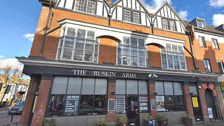 The Ruskin Arms has lost its licence. Pic: Google