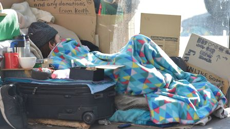 Data from Shelter shows that one in 105 people are now homeless in Havering, up from one in 129 last
