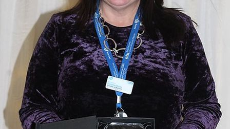 Nurse Caroline Moore was the winner of BHRUT's Lifetime Achievement Award. Photo: BHRUT
