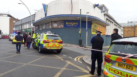 The victim is said to be a pensioner. Picture: Ken Mears