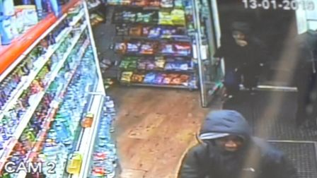 CCTV footage shows the moment knife-wielding thugs attack a customer in Ilford cash and carry. Photo