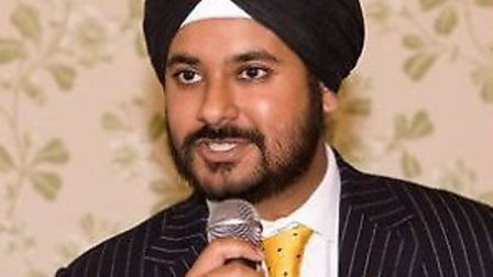Cllr Varinder Singh-Bola has stepped away from the role of Mayor of Redbridge