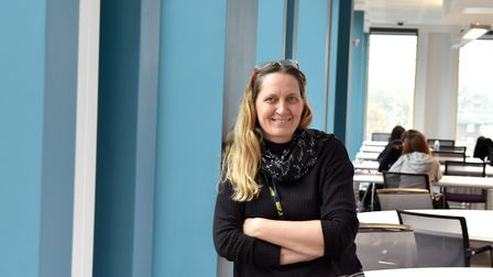 Nicole Schnappauf, curriculum programme manager and teacher of mathematics, at Newham Sixth Form Col