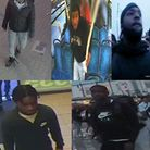 Police are appealing to trace these five suspects in connection with the brutal beating of Jordan Do