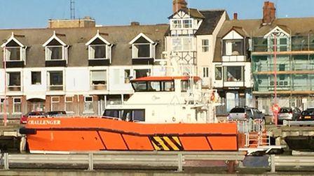 Lowestoft Lifeboat was called to assist the Challenger vessel which had got into difficulty.
