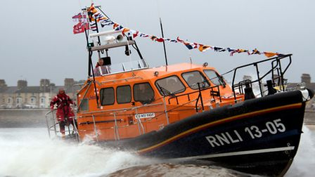 Lowestoft lifeboat Patsy Knight was called out. Picture: MICK HOWES/RNLI