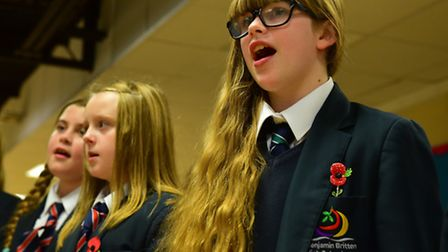Rehearsals for the Children In Need concert at the Yarmouth Hippodrome. Pictures: Nick Butcher
