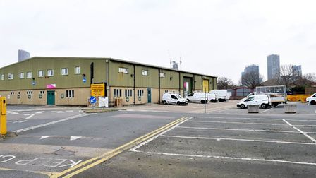The depot in Bridge Road where the repairs and maintenance service is part-based. Picture: Polly Han