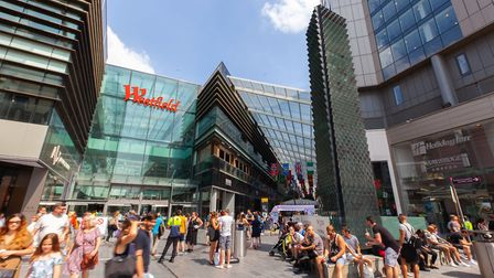 Westfield Stratford City will stage its sixth student discount day. Pic: Unibail-Rodamco-Westfield