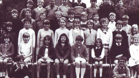A class photo from 1975 at Denes High School. Picture: Supplied