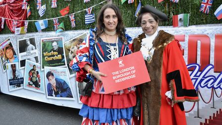Redbridge Mayor Debbie Kaur-Thiara and her troupe scooped at �8,000 prize at London's New Year's Day