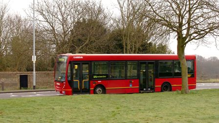 More than 155 people were injured by a bus in one year in Havering. Photo: John Hercock