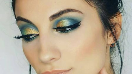 Make-up artist Luiza completed a level three in make-up artistry at CPBA, a professional beauty acad