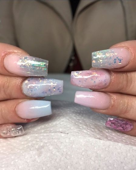 Nail Technician Laura Hughes has started her own business as well as working in a salon