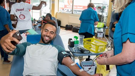 NHS Blood and Transplant is urging men in London to match women in making becoming a blood donor the