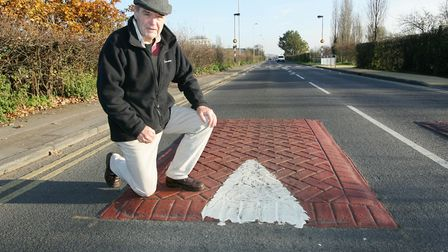 John Sharrock of Barkingside21 previously spoke out about the speed humps on Forest Road. Picture: S