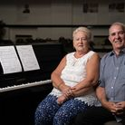 Pat and John Weaver, who run Silver Threads bingo club at Community Links. Picture: Tony Boyle