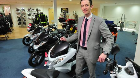Lowestoft car dealership, Lings is now up and running after the recent floods.Sales manager Ben Thom