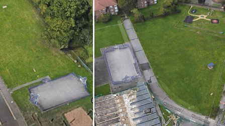 Temporary accomodation schemes for up to 90 homeless families are being proposed in Brocket Way and