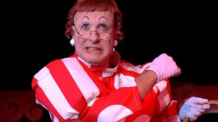 Steve Shapelle is playing 'Nurse Katy' at the Marina Theatre in Lowestoft.