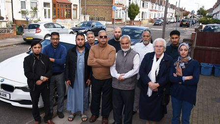 Residents of Mortlake Road who are angered by the council plans to implement permit parking in 90 ro