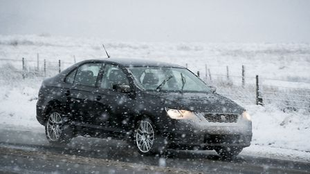 Snow and ice is expected to hit all across the country in the next few days. Photo: Liam McBurney/ P