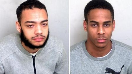 Chad Morris and Jordan Young. Photo: Essex Police