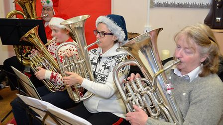 A Christmas Fair was held at Meadow Primary School in Lowestoft.