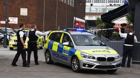 Facial recognition technology will be used in Romford town centre in the next few days. Photo: Ken M