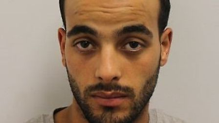 Mehdi Djoumad, 24, of no fixed address, was sentenced to 13 years in jail at Snaresbrook Crown Court