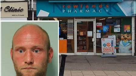 Peters went into Rowlands Pharmacy in Elm Park along with other stores, and stole charity tins and l