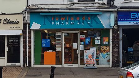 Rowlands Pharmacy in Ardleigh Green Road