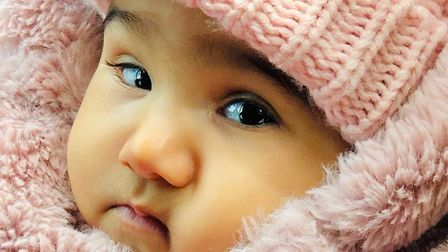 Maryam Malji has type 1 spinal muscular atrophy and may just have months to live. Pic: Pic: Shakil/
