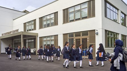Woodford County High School has been named the top performing secondary school in Redbridge. Picture