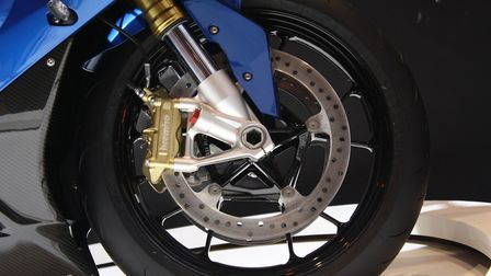 A stock image of a motorcycle tyre. Photo: Ajamal/Wikimedia Commons