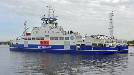The new Woolwich Ferry. Picture: TfL
