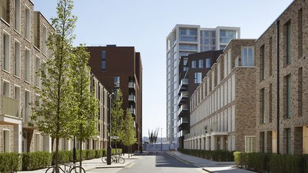 Artist's impression of the Royal Wharf development. Picture: Jack Hobhouse
