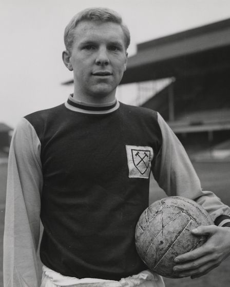 Bobby Moore by an unknown photographer, 1962 Picture:National Portrait Gallery London