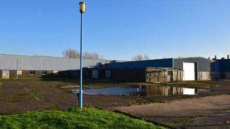 The former Zephyr Cams site in Lowestoft.