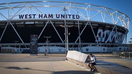 The London Stadium (originally known as the Olympic Stadium), now home to West Ham United football c