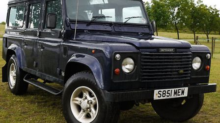 A Landrover Defender 110 has been stolen from Saxon Road in Lowestoft.