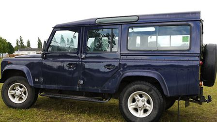 A Landrover Defender 110 has been stolen from Saxon Road in Lowestoft