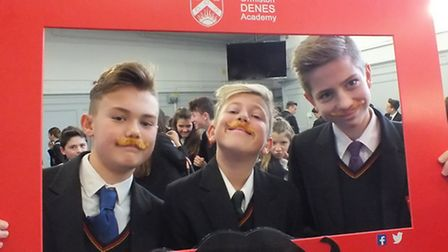 Students at Ormiston Denes Academy have joined in with the Movember campaign.