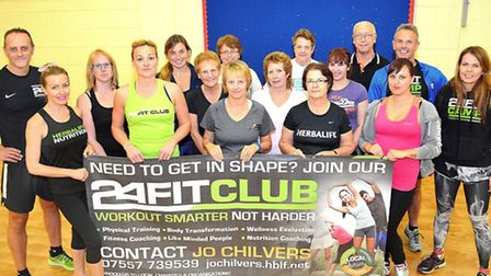 A FitClub is taking place at Woods Loke Primary School, encouraging people to make a positive change