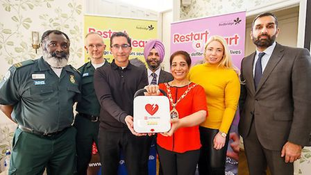 The launch took place at Valentines Mansion. Photo: Redbridge Council