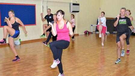 A FitClub is taking place at Woods Loke Primary School. Pictures: Mick Howes