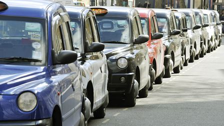 Black cab drivers will not have to pay the ULEZ charge. Photo: PA