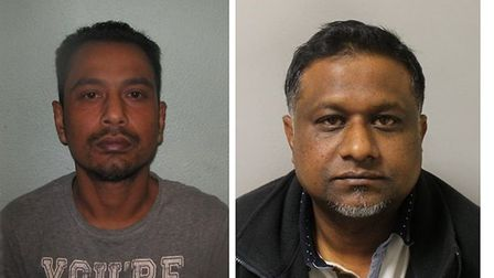 Shan Abda, of Stepney, and Mohammed Sajon, of Forest Gate. Photos: Met Police